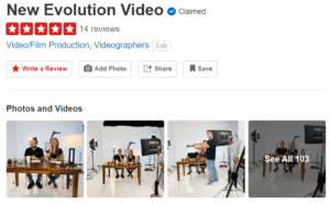 New Evolution Video on Yelp California San Diego Los Angeles Yelp Reviews 5/5