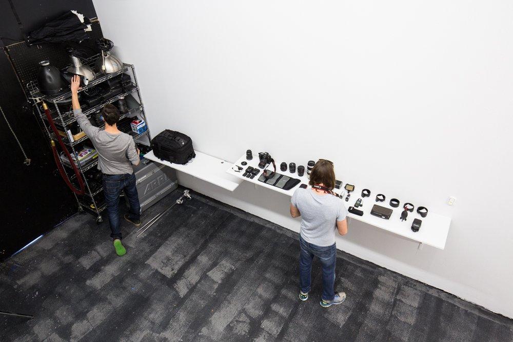 DK3 video studios setup and gear