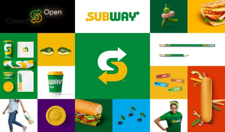 Subway Visual Brand Identity