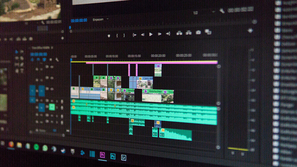 Production Video Editing